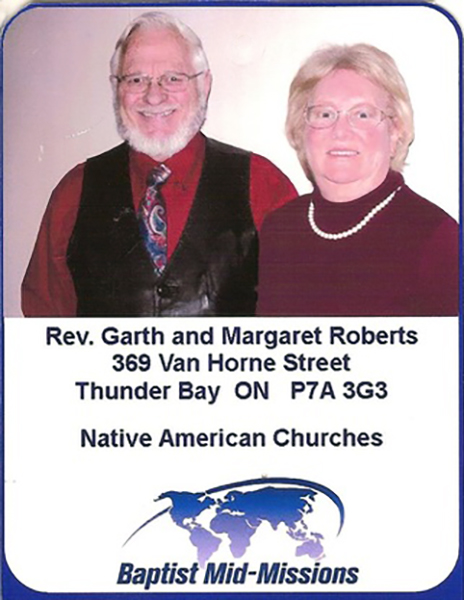 Image result for garth and margaret roberts missionary